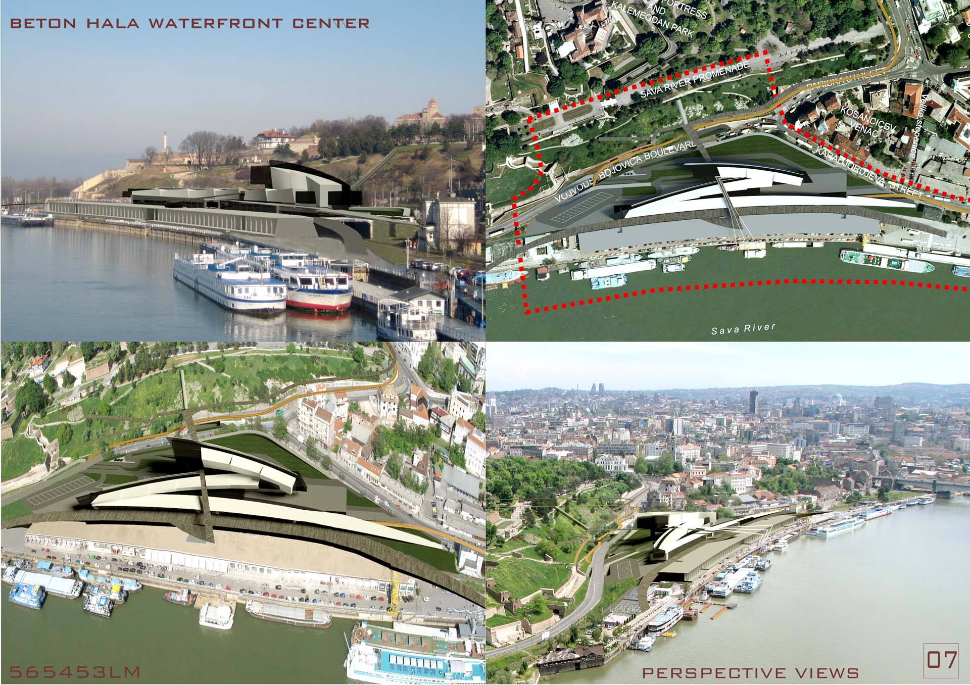 THE WATERFRONT CENTER IN BELGRADE