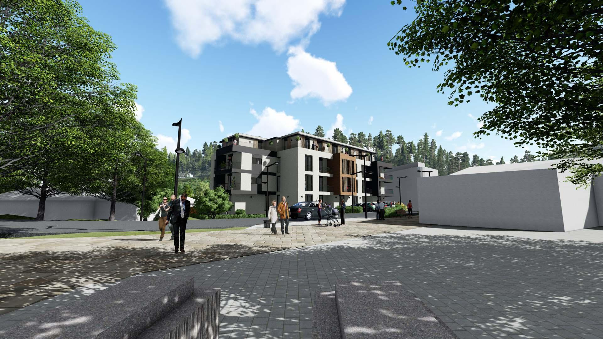RESIDENTIAL BUILDING SNEZNIK