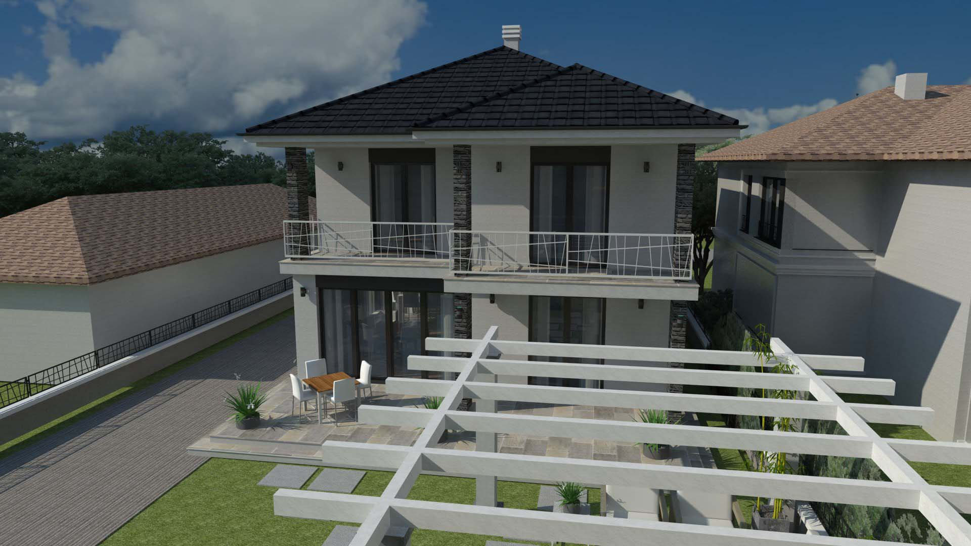 Reconstruction  & upgrading the family home