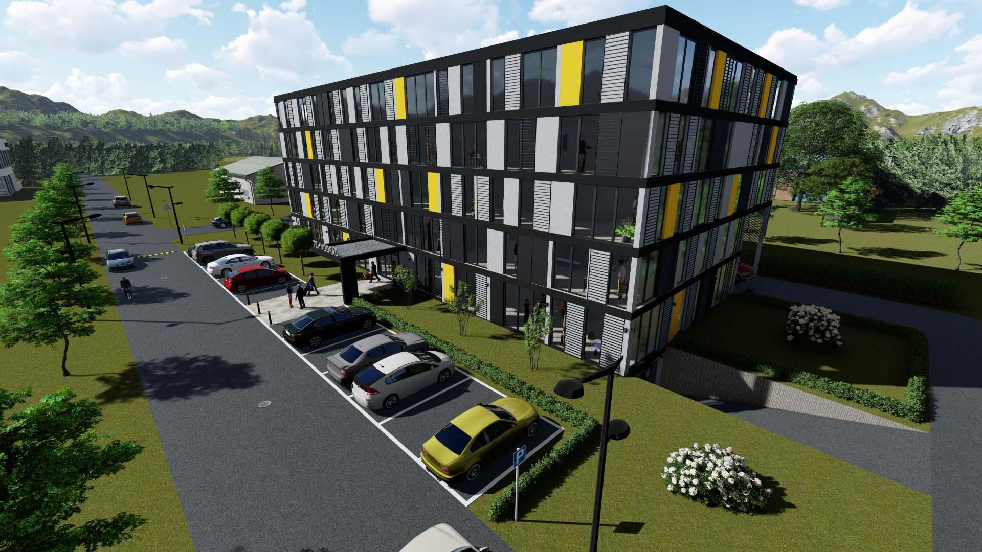 "Residental/office building ""TEHNOGRAD"""